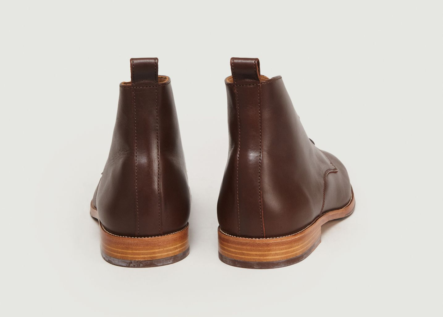 Boots En Cuir L'Explorateur - Bobbies Paris