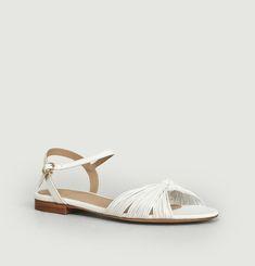 Sandales En Cuir La Rayonnante