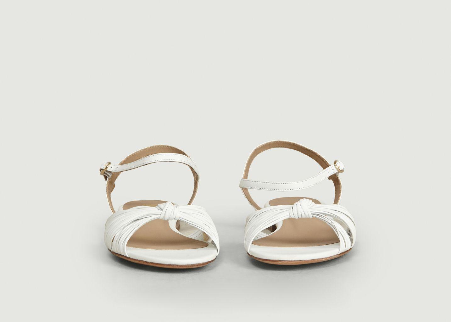 Sandales En Cuir La Rayonnante - Bobbies Paris