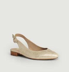 La Coquette Leather Sandals