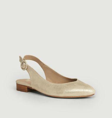 Sandales En Cuir La Coquette