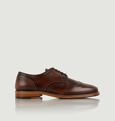 Harrison leather brogues derbies