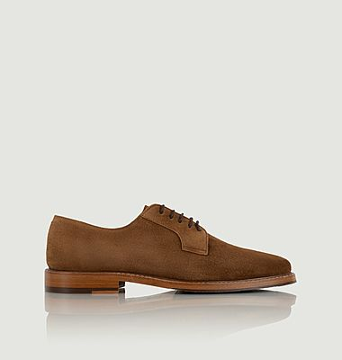 Clint suede leather derbies