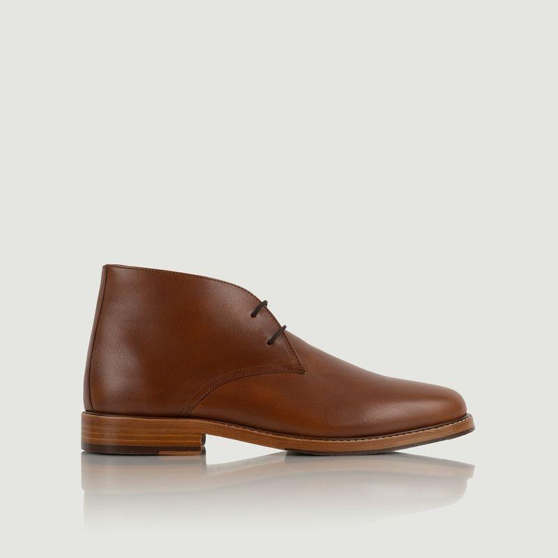 Chukka boots en cuir Le Scénariste - Bobbies Paris