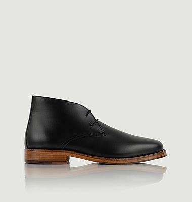 Owen leather ankle boots