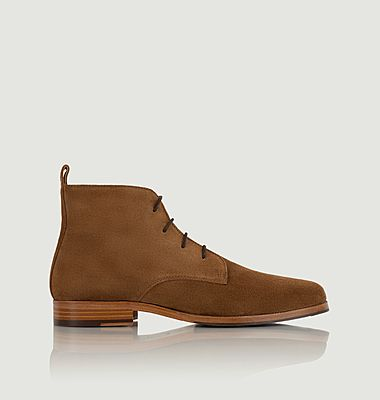 Vasco suede leather ankle boots