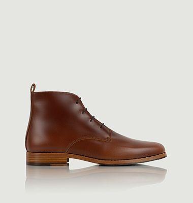 Boots en cuir à lacets L'explorateur