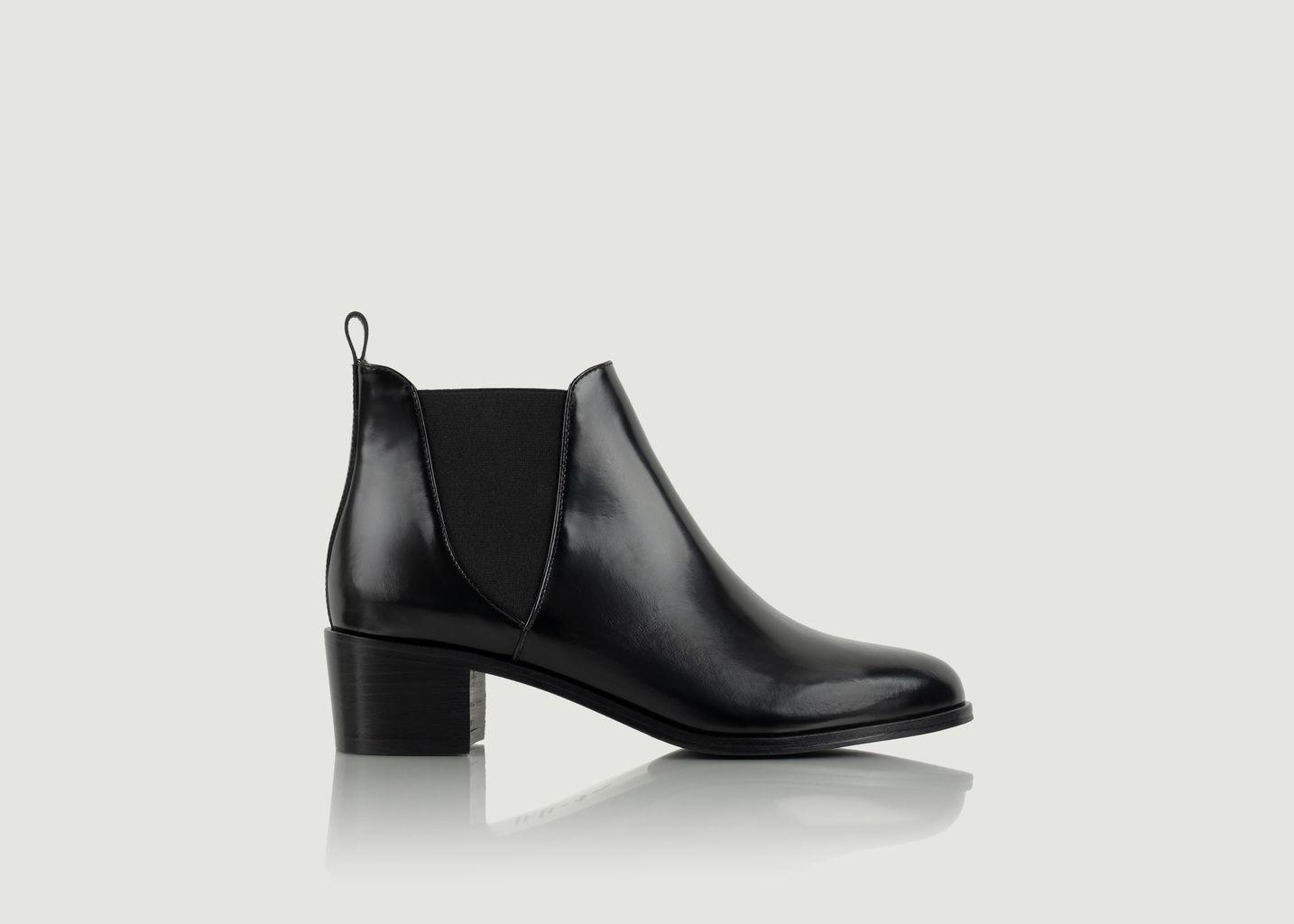 Chelsea boots en cuir Soho - Bobbies Paris