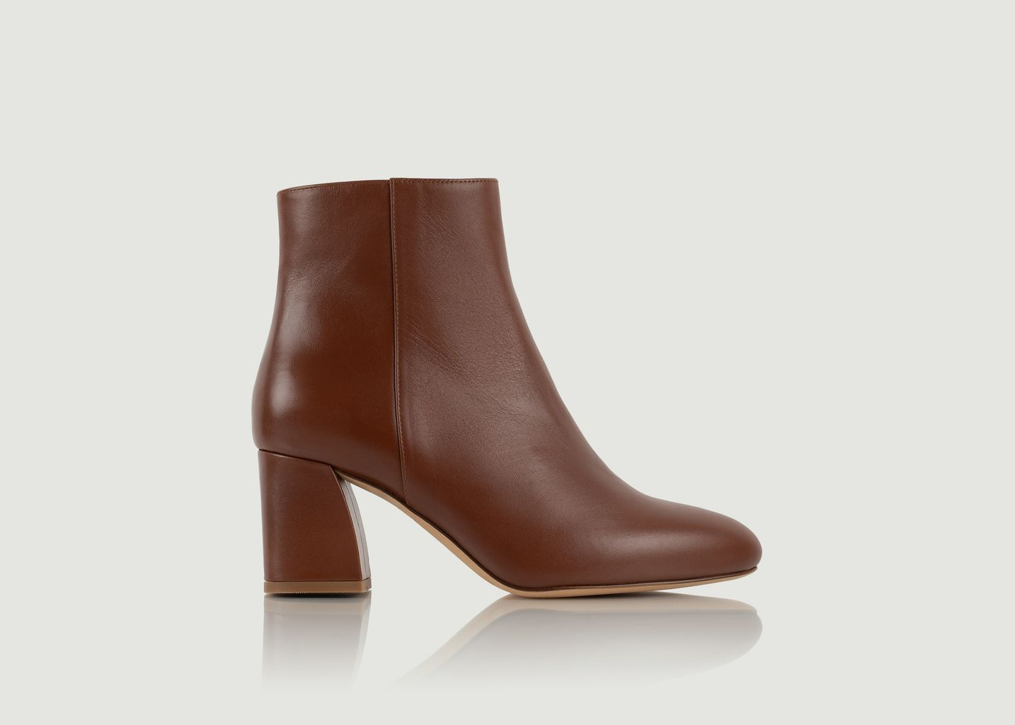 Bottines en cuir Downtown - Bobbies Paris