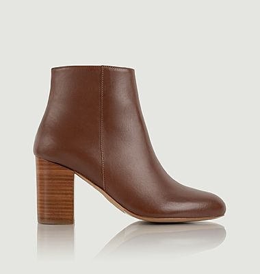 Bottines en cuir La Divine