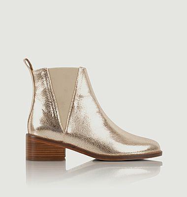 Chelsea boots en cuir L'entêtée