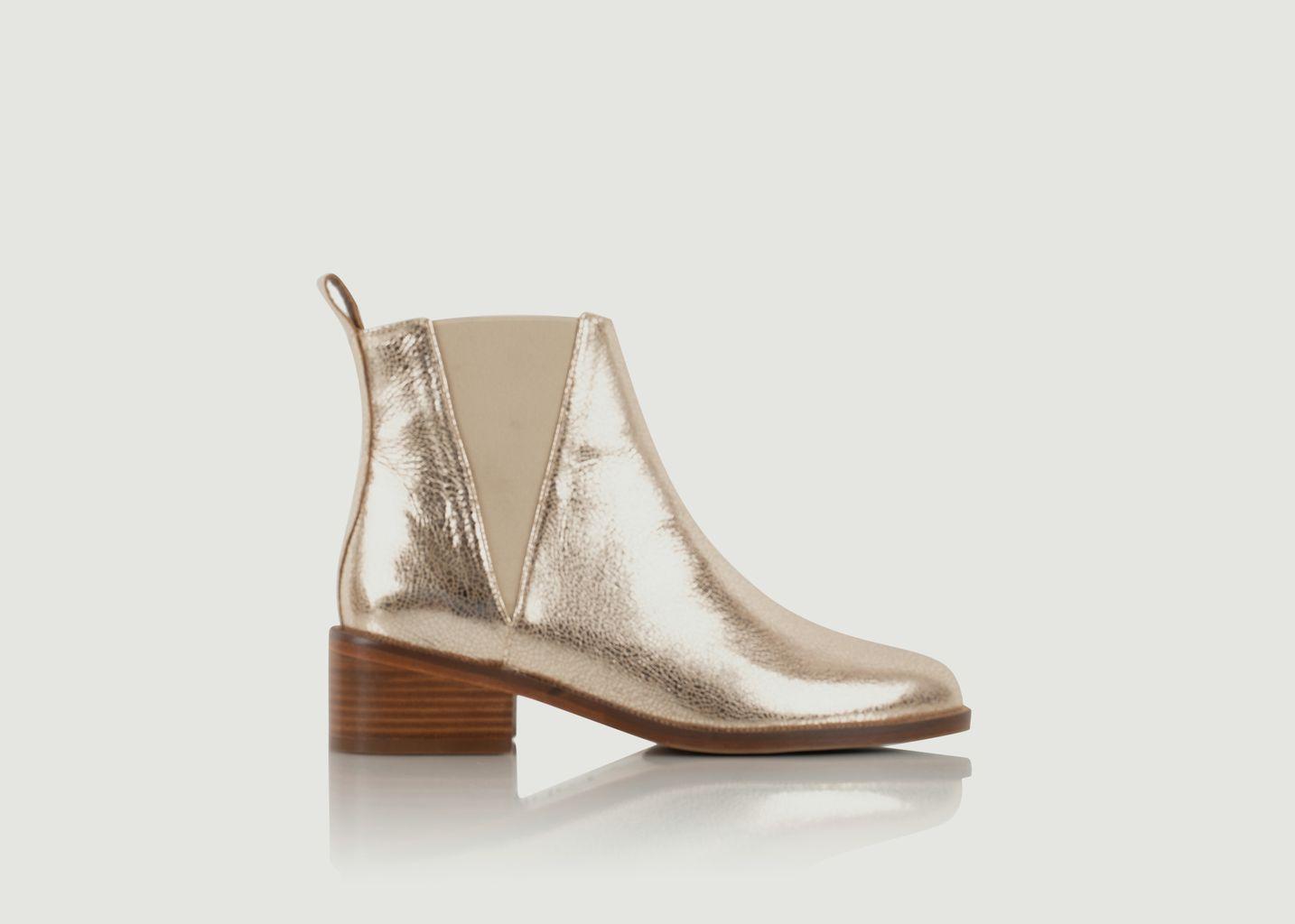 Chelsea boots en cuir L'entêtée - Bobbies Paris