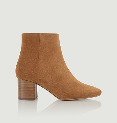 Adulée suede leather boots