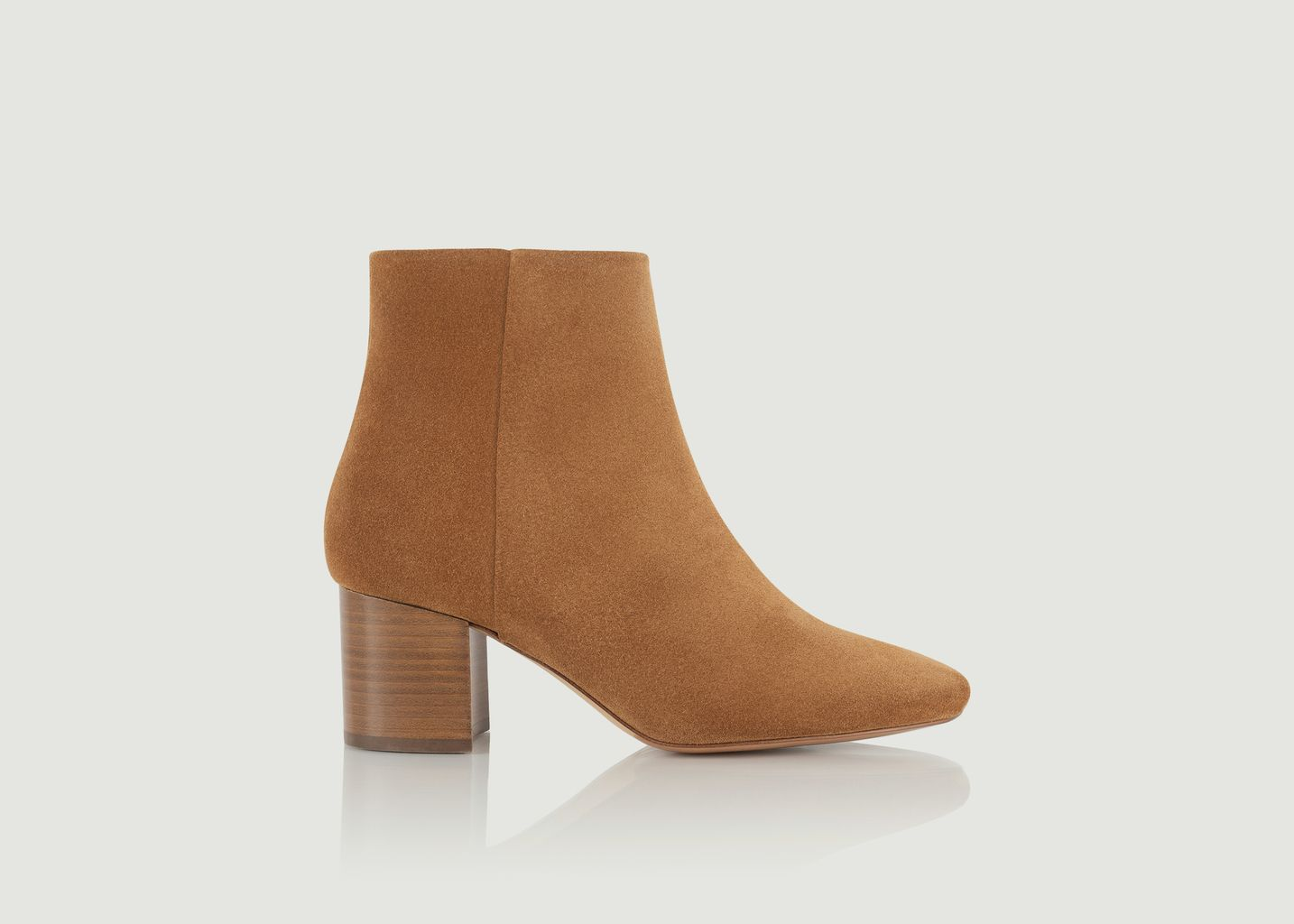 Boots en daim Adulée - Bobbies Paris