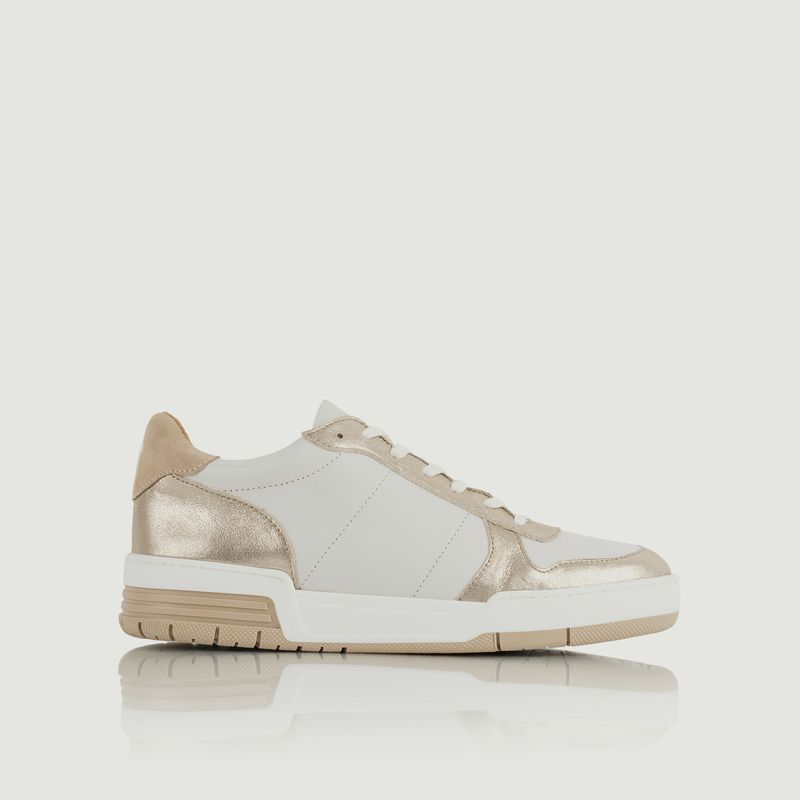Sneakers en cuir Long Beach - Bobbies Paris
