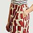 matière Pantalon court large imprimé rectangles - Bobo Choses