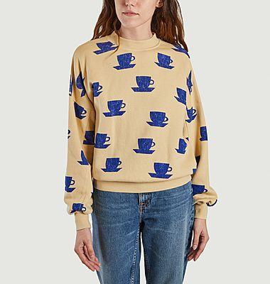 Sweatshirt tasse à café