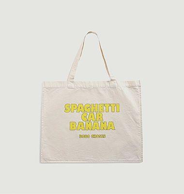 Sac fourre-tout Spaghetti Car Banana