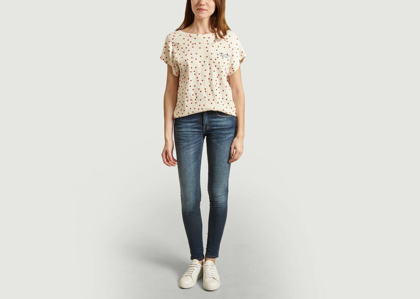 T-Shirt Imprimé Pois - Bobo Choses