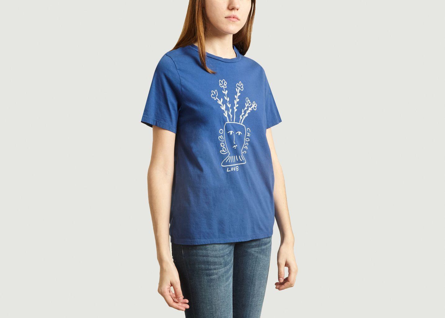 T-Shirt Imprimé Fleuri  - Bobo Choses