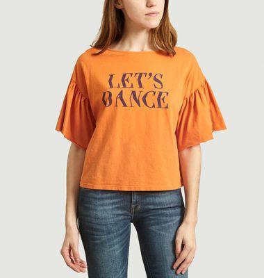 Tee-Shirt Let's Dance Manches Évasées