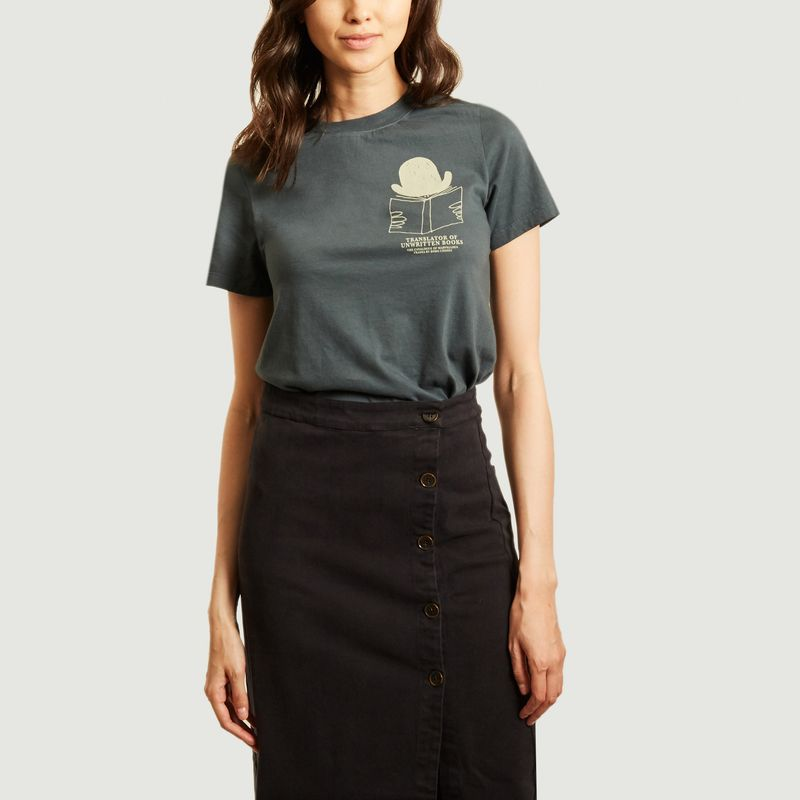 T-shirt en coton bio imprimé Translator - Bobo Choses