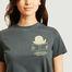 matière T-shirt en coton bio imprimé Translator - Bobo Choses