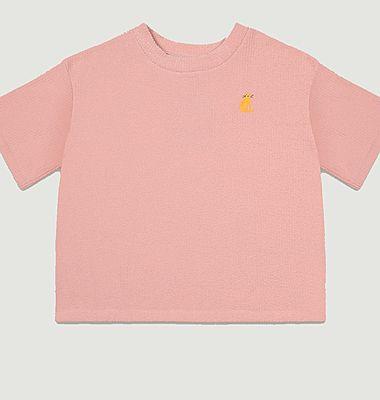 T-shirt Pink Terry Towel