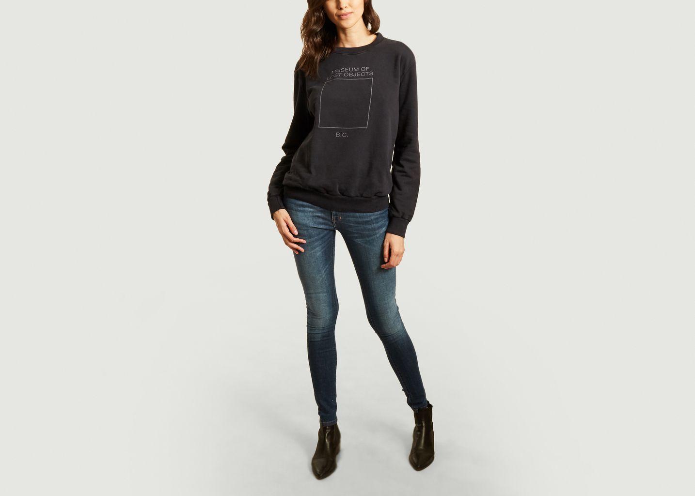 Sweatshirt imprimé en coton bio - Bobo Choses