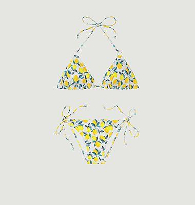 Maillot 2 pièces triangle Lemon