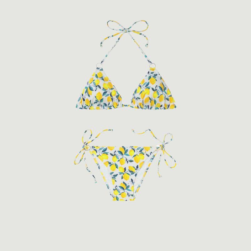 Maillot 2 pièces triangle Lemon - Bohodot