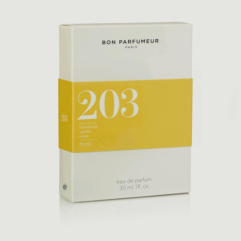Eau de Parfum 203 Framboise Vanille Mûre Fruité - Bon Parfumeur