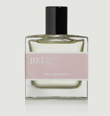 Eau de Parfum 103 Fleur de Tiaré Jasmin Hibiscus Floral