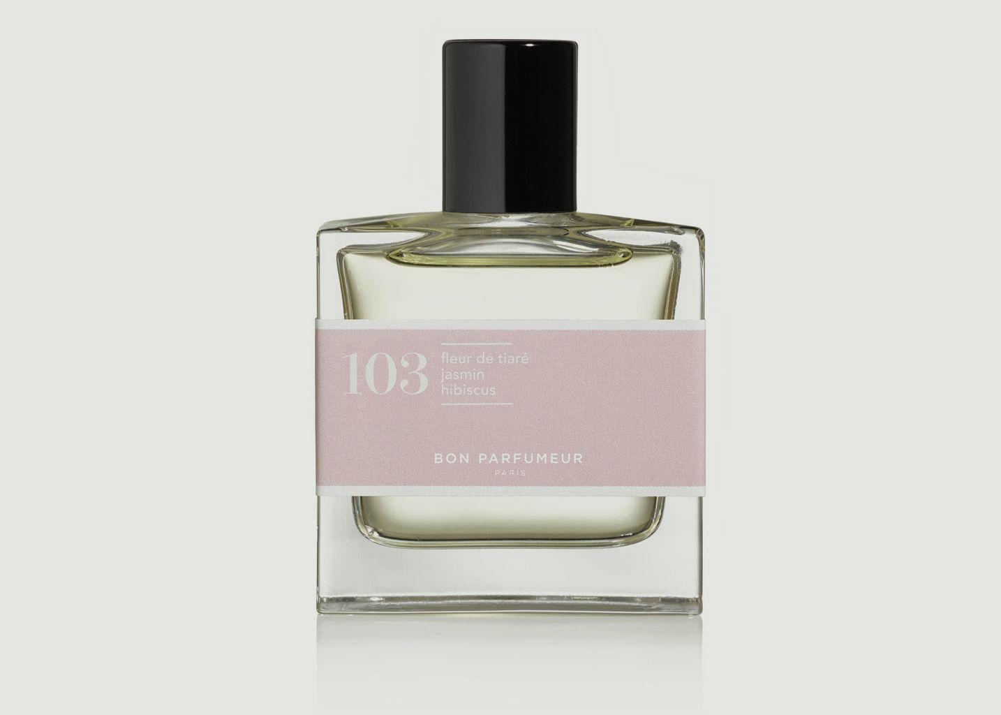 Eau de Parfum 103 Fleur de Tiaré Jasmin Hibiscus Floral - Bon Parfumeur