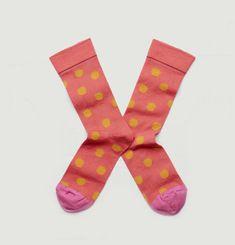Ispahan Polka Dot Socks