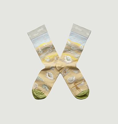 Chaussettes Coquillage