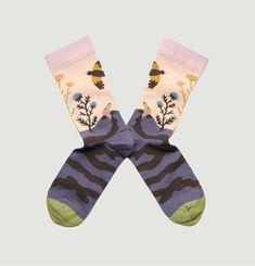 Socks Taupe Pink Bouto Bonne Maison