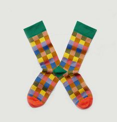 Parade Chequered Socks