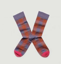 Ispahan Chequered Socks