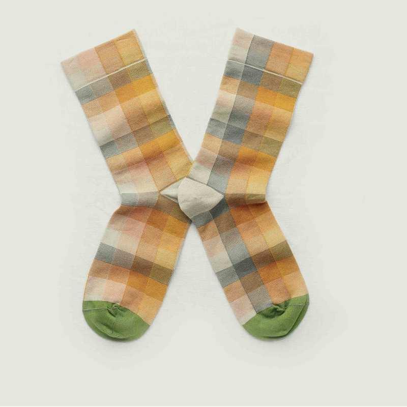 Chaussettes motif à carreaux  - Bonne Maison