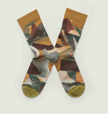 Montagne pattern socks