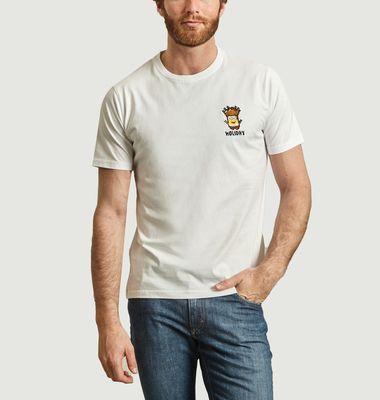 T-shirt Holiday Minion en coton biologique
