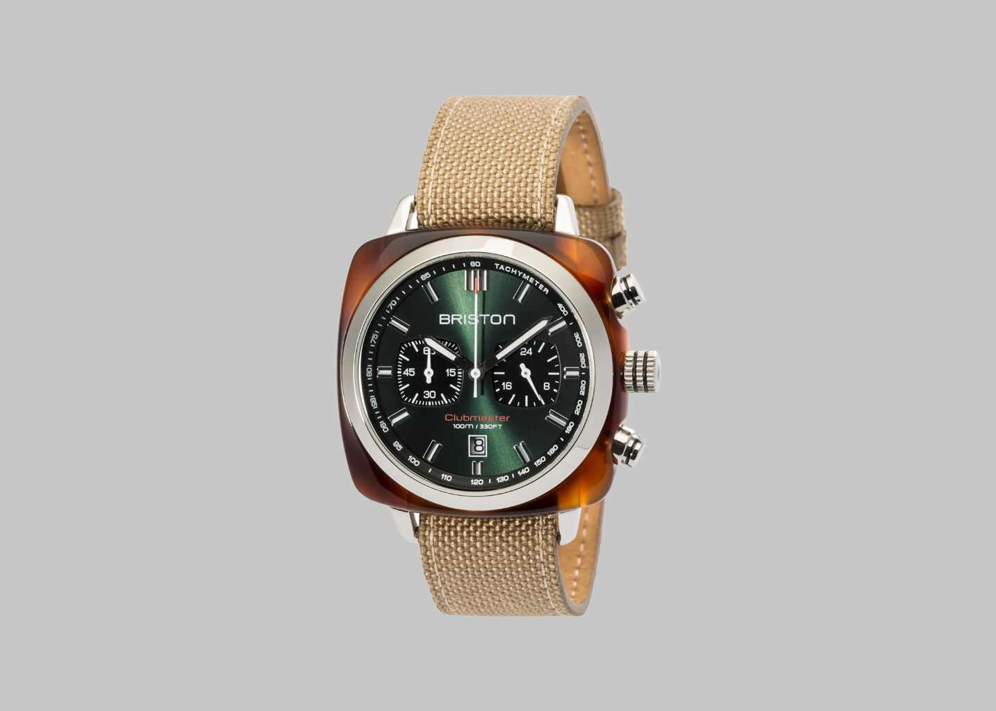 Clubmaster Sport Watch Briston Sand L'Exception