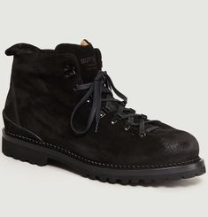 Catalone Suede Mountain Boots