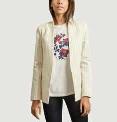 Nivellah striped jacket