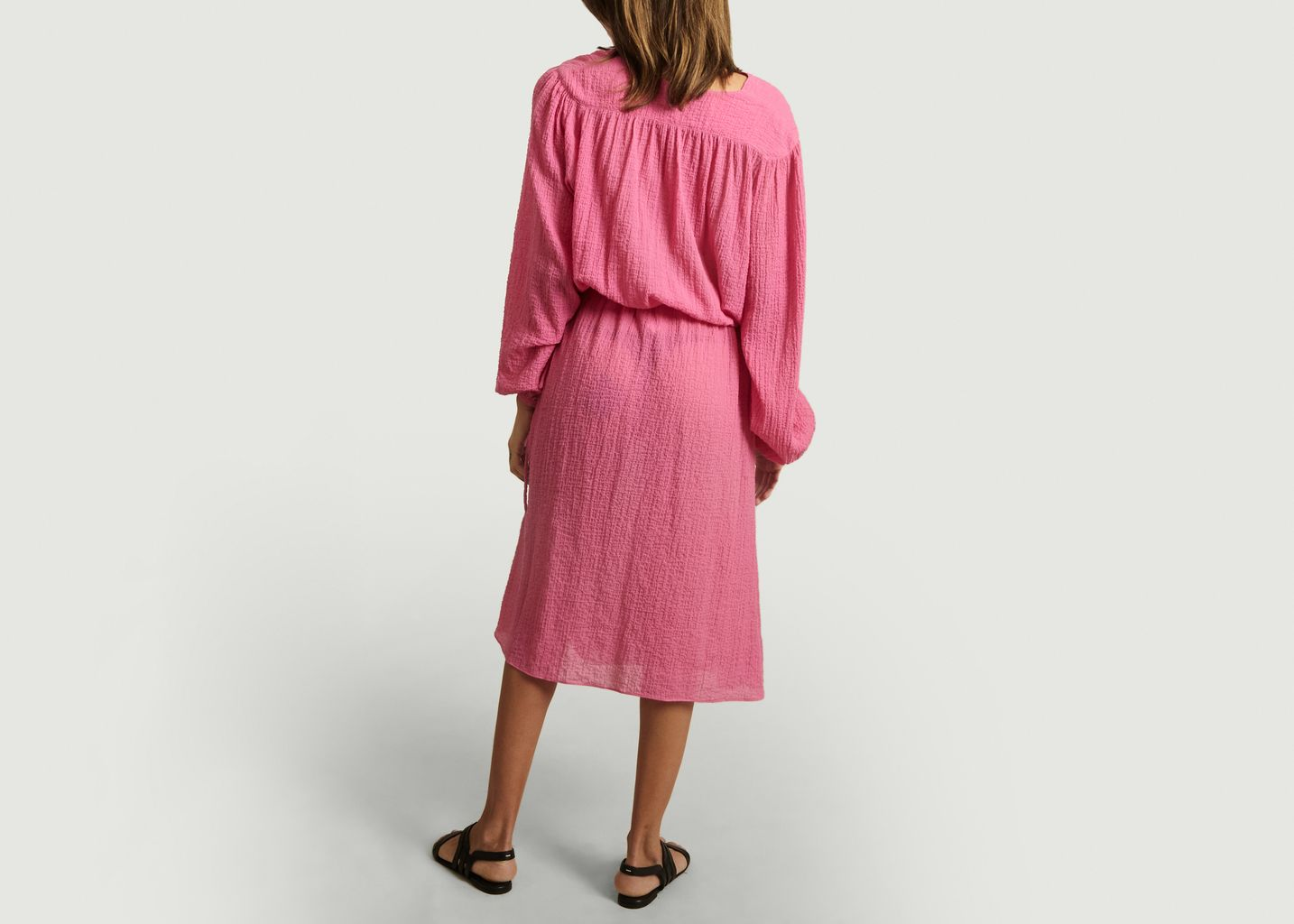 Robe Donahey en gaze de coton - By Malene Birger