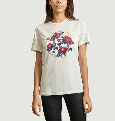 T-shirt imprimé fleuri Azalea