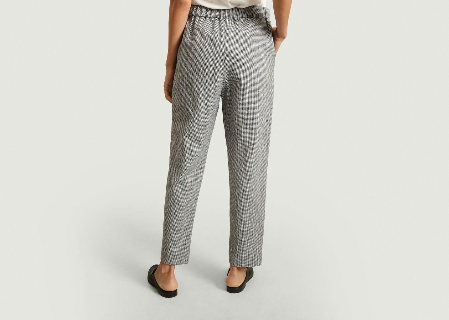 Pantalon motif pied-de-poule Othilia - By Malene Birger