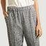 matière Pantalon motif pied-de-poule Othilia - By Malene Birger