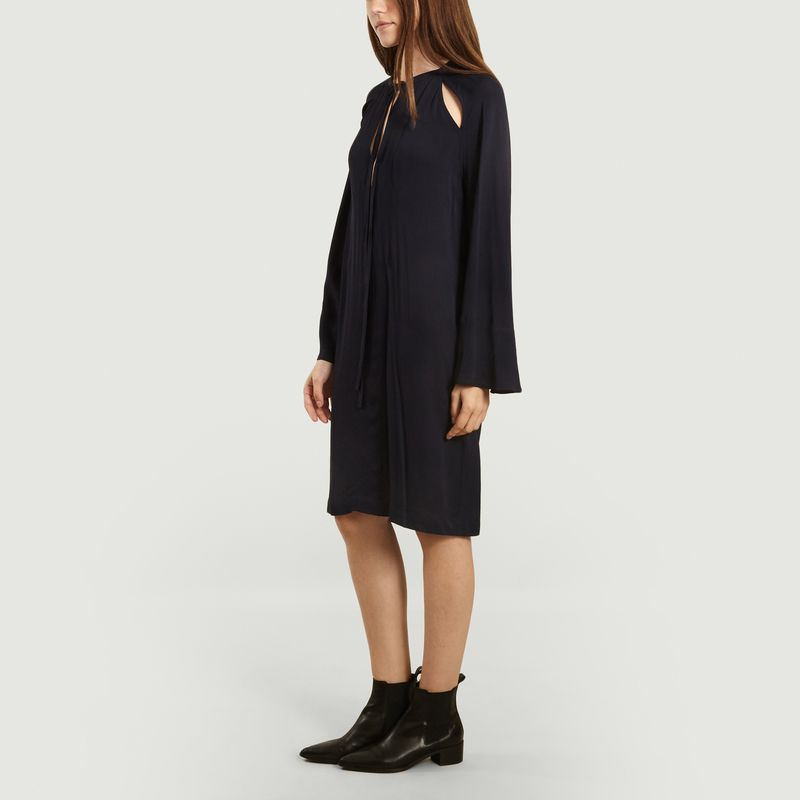 Robe ajourée manches longues Galactia - By Malene Birger